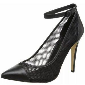 BCGB Cynthia mesh heels sz 8 like new